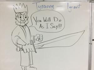 Tyranny or Tyrant