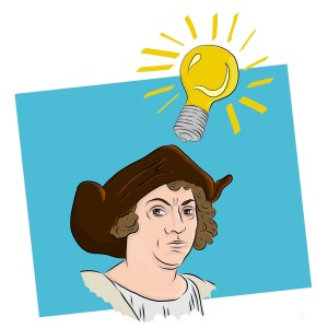 Columbus has an idea